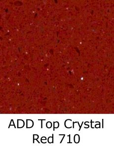 ADD Top Crystal Red 710