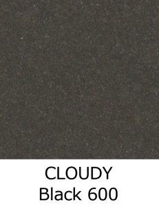 CLOUDY Black 600