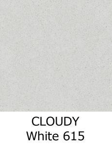 CLOUDY White 615