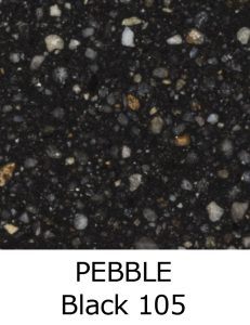PEBBLE Black 105