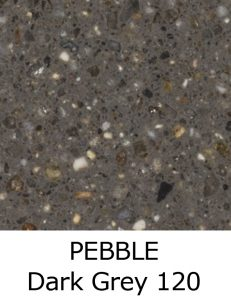 PEBBLE Dark Grey 120