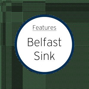 Features Belfast Sink